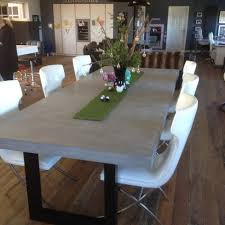 3 Metre Dining Table 3 Metre Polished Concrete Micro Cement Dining Table