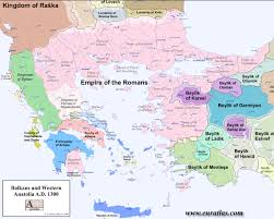 Map Of Balkans Balkans And Western Anatolia A D 1300 1280 X 1024 Mapporn