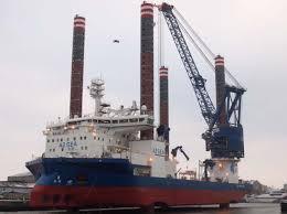 Wind Turbine Installation Vessel Heavy Lift Specialist
