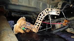nissan sentra fuel pump how to install new fuel pump u0026 gauge sending unit no fuel gauge