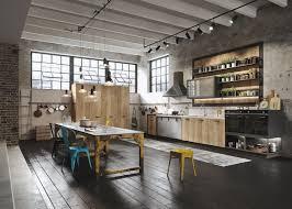 the rustic loft kitchen design by snaidero luxervind