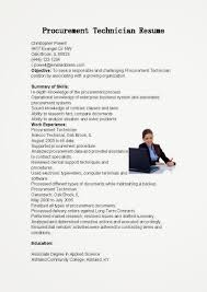 procurement specialist resume examples professional training and