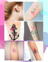 table de tatouage tatouage aquarelle notre sélection de tatouages aquarelle elle
