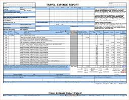 sample business expense spreadsheet with itemized travel expense