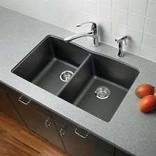 blanco metallic gray sink blanco 32 x 19 equal double bowl silgranit ii undermount