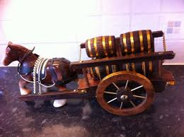 shire barrel cart ornament vintage in bromley