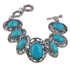 tibetan silver turquoise necklace images Tibetan silver buying guide JPG