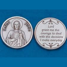 st jude gifts jude pocket token prayer coin dj catholic gifts
