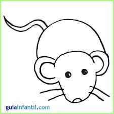 imagenes de ratones faciles para dibujar dibujos para colorear animales raton ideas creativas sobre colorear