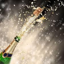 celebration theme with splashing chagne stock photo picture
