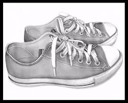 realistic 3d shoes drawing with pencil youtube
