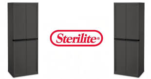 sterilite 4 shelf cabinet flat gray heavy duty outdoor sterilite 4 shelf cabinet just 69 86 shipped