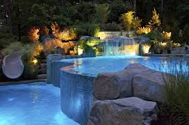 Backyard Pool Ideas Pictures Backyard Swimming Pool Designs Extraordinary Pools Waterfalls