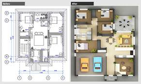 2d and 3d floor plan design drafting and drawing services