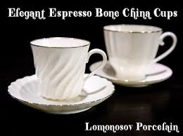 porcelaine bone china bone china cup and saucer may frosty evening 5 6 fl oz 165 ml lomono