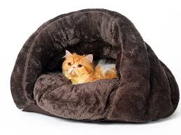 Igloo Dog Bed Amazon Com Pls Pet Cuddle Pouch Pet Bed Medium Bag Covered