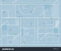 generic building blueprints design stock illustration 3087527