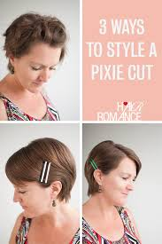 how to style a pixie cut different ways black hair 3 ways to style a pixie cut hair romance