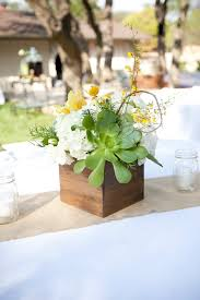 table center pieces 24 succulent centerpieces for your reception table weddingomania