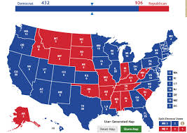 Election Map 2016 by You Might Notice A Trend Playing With The Electoral College Map
