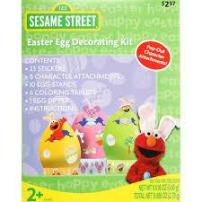 easter egg decorating kits dudley sesame easter egg decorating kit walmart
