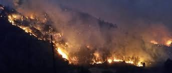Wildfire Update by Helena And Fork Fires Update Fire Activity Moderated Overnight By