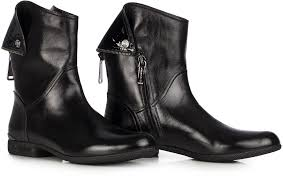 womens boots leather black vintage brand flat boots black leather sexyshoeswoman com