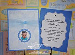Baptismal Invitation Cards Baptism And 1st Birthday Invitations Dhavalthakur Com