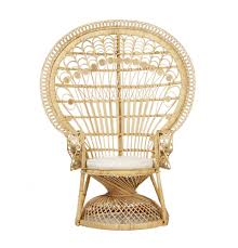 peacock accent chair exclusive from rattan cirebon indonesia