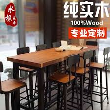 iron wood bar tables and chairs starbucks square bar retro bar