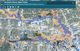 houston map flood preliminary analysis of hurricane harvey flooding in harris county
