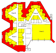 about the center hospital area