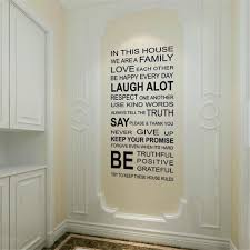 Family House Rules by In This House Vinyl Wall Sticker Gadget Flow