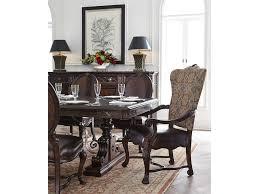 stanley furniture dining room trestle table 443 11 36 flemington