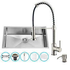 kitchen sink with faucet set sinks all in one sinks the best prices for kitchen bath and