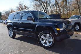 jeep patriot 2016 black jeep patriot in montgomeryville pa lansdale auto group