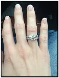 stone bands rings images 3 stone engagement rings with matching wedding bands 1st wedding jpg