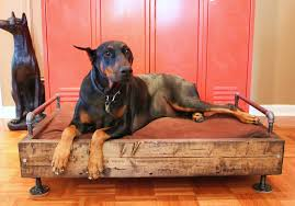Cedar Dog Bed Industrial Dog Bed The Cavender Diary