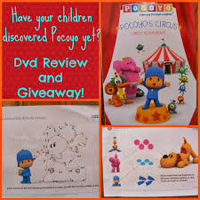 crafty moms share pocoyo u0027s circus dvd review u0026 giveaway