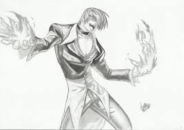 Drawing Games Iori Yagami Drawing Kof By Extremegun On Deviantart