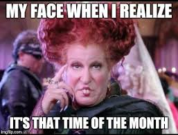 That Time Of The Month Meme - hocus pocus imgflip