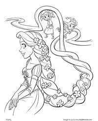 111 tangled images disney coloring pages