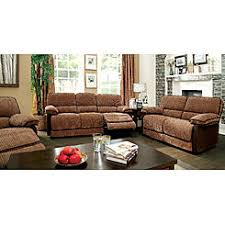 Two Tone Reclining Sofa Two Tone Reclining Sofa And Loveseat Set