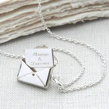 silver letter necklace pendants images Personalised sterling silver secret letter necklace by jpg