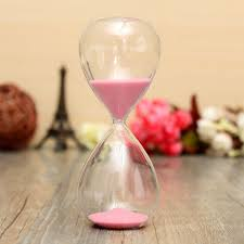 5101530 minutes sand glass sandglass hourglass timer clock home