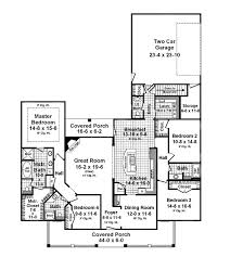 Garage Home Plans by 53 Best House Plans One Story Images On Pinterest House Floor