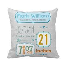 personalized pillows for baby custom baby pillow