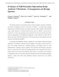 bureau veritas laboratoire evidence of soil structure interaction pdf available