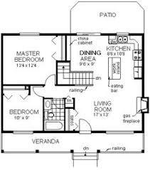 Simple Floor Plans For A Small House Small House Floor Plans Under 1000 Sq Ft Small House Plans