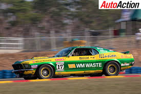 gulf racing mustang touring car masters gears up for queensland raceway auto action